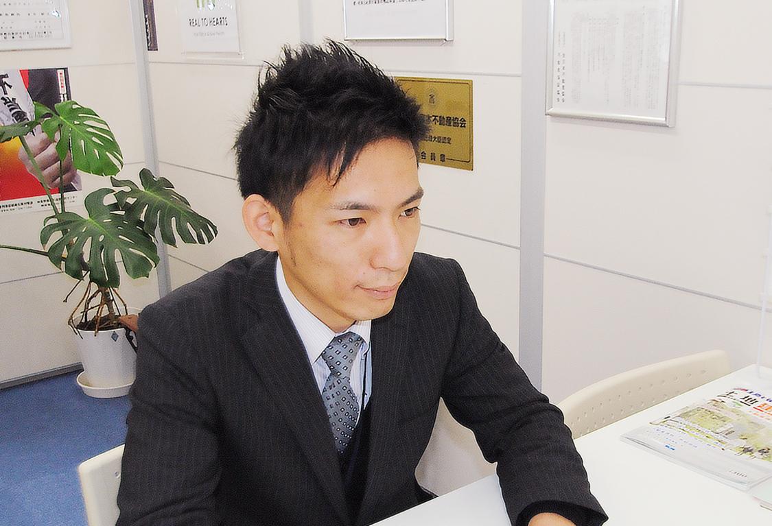 営業課長/宅地建物取引士/住宅ローンアドバイザー/立木 亮太