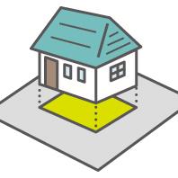 「敷地に対する建ぺい率・容積率の関係」サムネイル画像