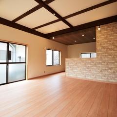 「若松区 高須西 リセットハウス【吹抜け勾配天井のある住まい】」サムネイル画像